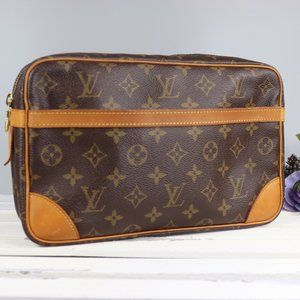Louis Vuitton Compiegne 28 Clutch Monogram